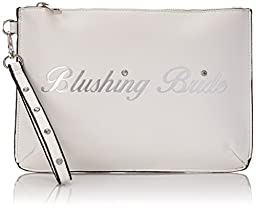 Aldo Replin Clutch, White, One Size