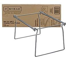 Smead Hanging File Folder Frame, Letter Size, 2 Pack (64872)