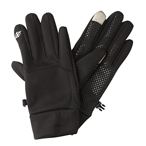nordic-track-mens-black-stretch-fit-texting-gloves