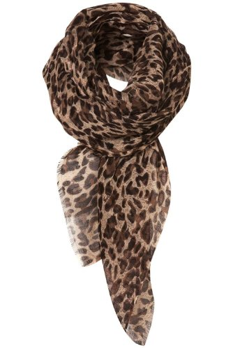 niceEshopTM Leopard Pattern Shawl for Women +Free niceEshop Cable Tie