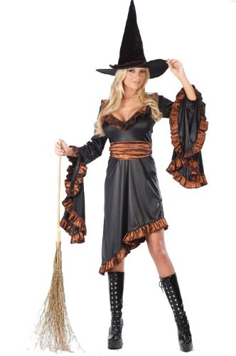 Ruffle Witch Costume