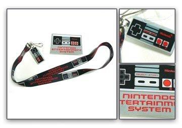 Cordino con licenza Nintendo-Nuovo controller w/Charm in gomma je178601ntn