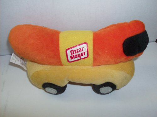 "Wienermobile 6"" Long Beanie Plush - 1"
