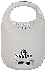 NESCO MKM-S05 Bluetooth Portable Speaker (White)