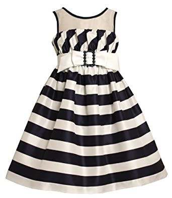 Amazon.com: Size-6X, Navy, BNJ-6922R, Navy-Blue and White Bias Striped
