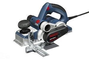 Bosch Professional GHO 40-82 C, 850 W Nennaufnahmeleistung, 82 mm Hobelbreite, 0 - 4,0 mm Spandicke einstellbar, Falztiefenanschlag, Koffer
