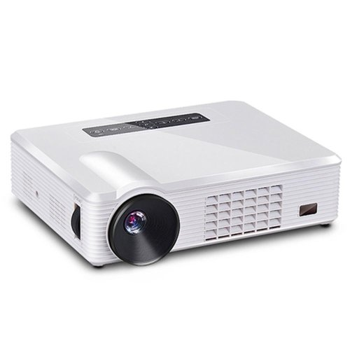 Lightinthebox Android 4.2 Wxga Wifi Dlp Projector With Hdmi Input Tv Tuner - T10+Home Video Movie Theater Mini Projectors, Color=White