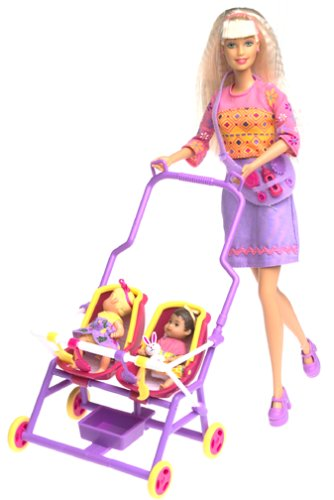 Buy barbie and krissy - stroll and play