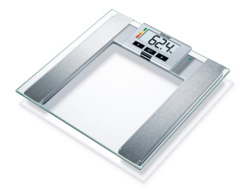 Beurer BG43 Glass Diagnostic Scale with Removable Display
