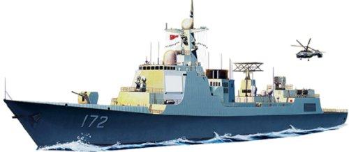 1/350 中国海軍ミサイル駆逐艦052D型