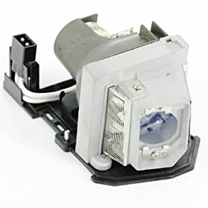 Awo-Lamps DELL 1210S Original Bulb/Lamp with Housing for DELL Projectors 150 Day Warranty