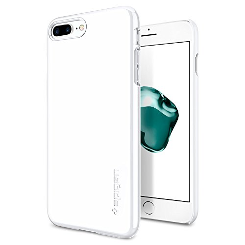 Spigen-Thin-Fit-iPhone-7-Plus-Case-with-Premium-Matte-Finish-Coating-for-iPhone-7-Plus-Jet-White