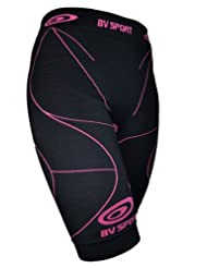 BV Sports Womens Compression Shorts