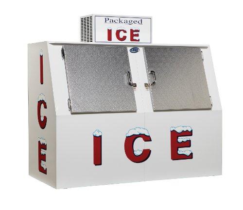 Leer Outdoor L060SASX, 60 cu ft, Slant Auto Defrost Solid Door Ice Merchandiser (Commercial Ice Box compare prices)