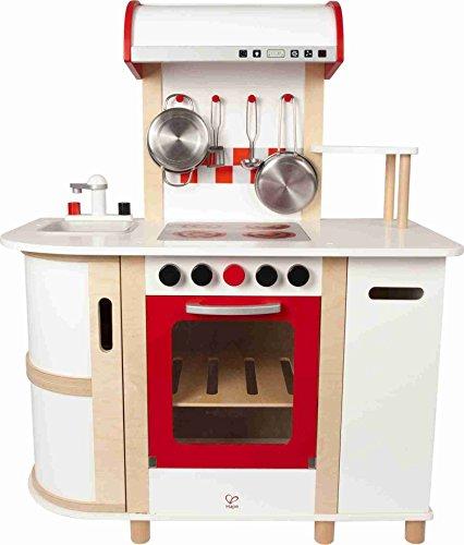 hape-e8018-cucina-con-carrello-multicolore