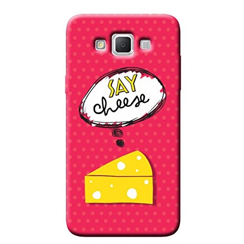 Garmor Say Cheese Design Plastic Back Cover For Samsung Galaxy Grand Max SM-G7200