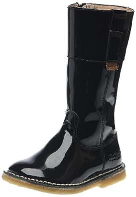 kickers cosydoz bottes fille noir verni 25 eu chaussures et sacs. Black Bedroom Furniture Sets. Home Design Ideas