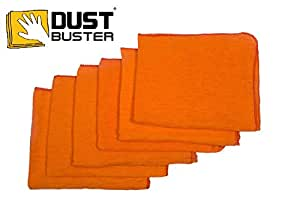"""HomeStrap™ Dust Buster® Duster Cloth - Orange (15""""X17"""") - Pack of 6"""