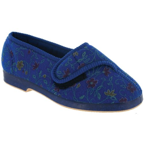 Cheap GBS Wilma Ladies Wide Fit Slipper / Womens Slippers (B009BFNN7M)