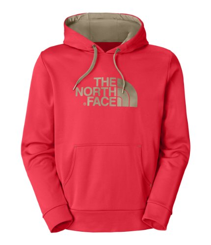The North Face Surgent Hoodie - Men'S Fiery Red/Dune Beige Medium
