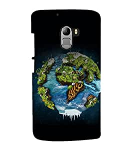 printtech Nature Planet Back Case Cover for  Lenovo Vibe X3 Lite
