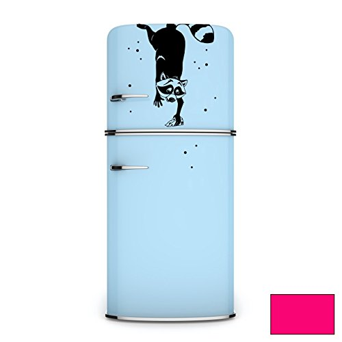 wall-sticker-fridge-stickers-wall-stickers-sticker-raccoon-polka-m1960-pink-xl-26cm-breit-x-36cm-hoc