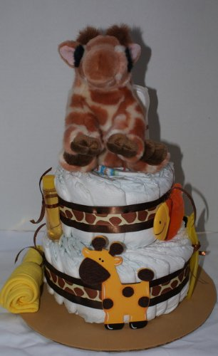 Pictures Of Diaper Cake