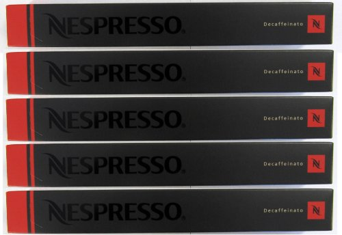 50 Nespresso Capsules Decaffeinato Coffee NEW