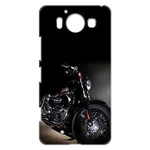 a AND b Designer Printed Mobile Back Cover / Back Case For Nokia Lumia 950 (NOK_950_3D_308)