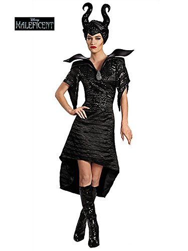 Disguise Women's Disney Maleficent Christening Deluxe Glam Gown Costume