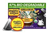 The ORGANIC COFFEE COMPANY GORILLA Decaf 12 ONE CUPS for Keurig Brewers