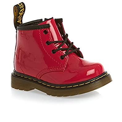 Dr Martens Infants Delaney Red Boots-UK 1