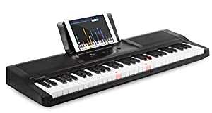 The ONE Smart Piano 61-Key Portable Light Keyboard, USB MIDI Electronic Keyboard Piano by The ONE Smart Piano