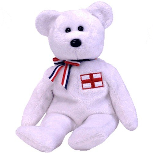 TY Beanie Baby - ENGLAND the Bear (England Exclusive) [Toy] - 1