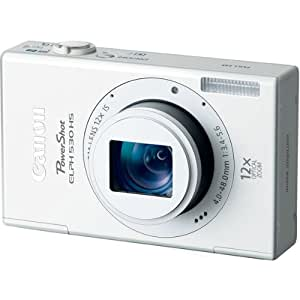 ELPH 530 HS 10.1MP Digital Camera With WiFi And 12x Optical Zoom-White