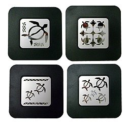 Amazon.com: Hawaii Style Coasters Honu or Turtles: Kitchen & Dining