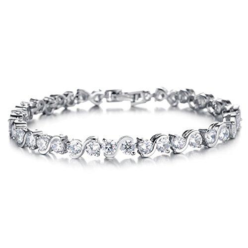 opk-jewellry-round-058ctswarovski-elements-cubic-zirconia-cz-tennis-bracelet-for-women-72-inch-lengt