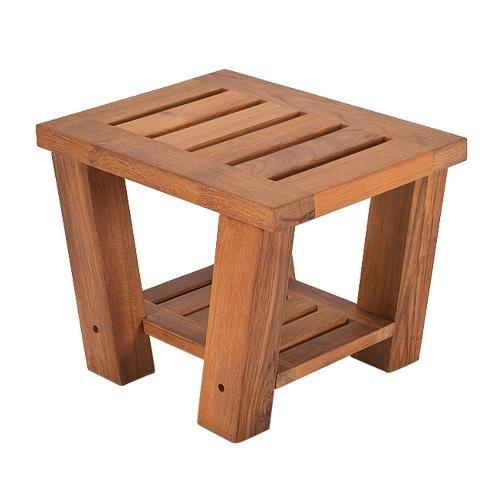 Living Earth Crafts - Teak Side Table