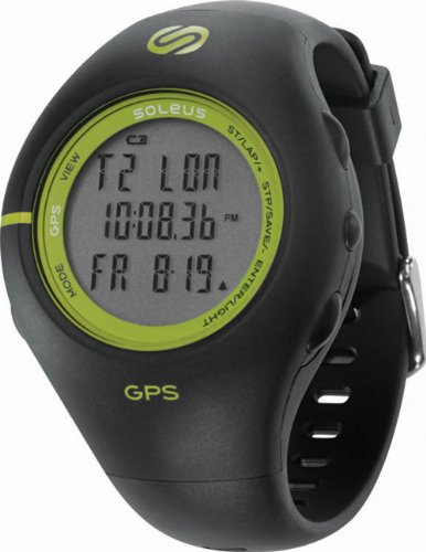 Soleus GPS - Black  &  Green