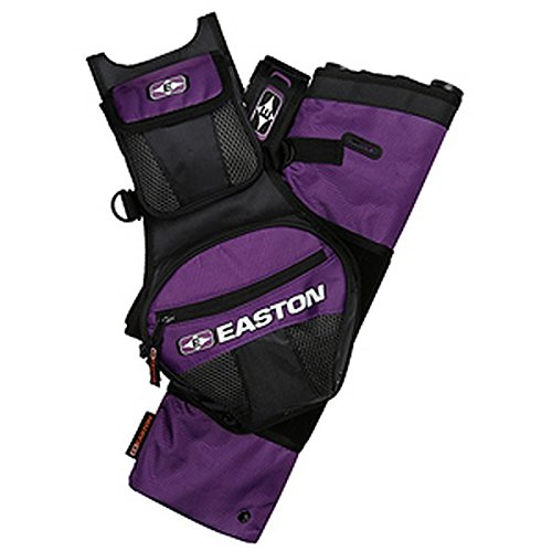 Easton 4 Tube Flipside Quiver, Purple, Left Hand/Right Hand