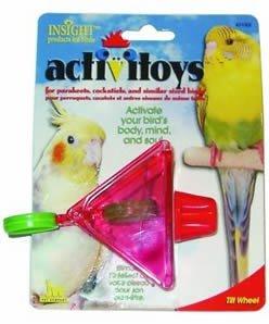 Cheap Brand New, JW Pet Company Insight Tilt Wheel Small Bird Toy Assorted Colors (Sale JW Pet Company – Acrylic Toys) (MSS080-31002-RR|1)