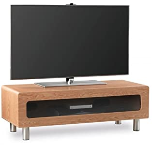 The Best  Alphason ABR1100CB Light Oak TV Stand