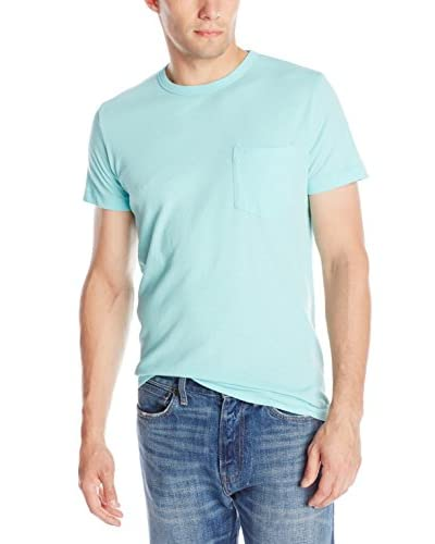 French Connection Men's Loose Knit Pocket T-Shirt