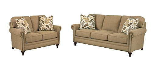 Broyhill Harrison Living Room Set with Sofa and Loveseat