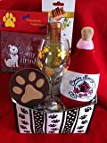 Dog and Owner Wine Lovers Christmas Gift Basket