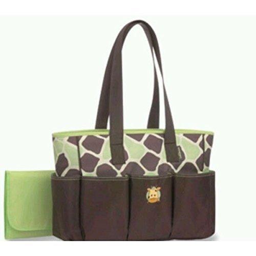 Baby Boom Tote Diaper Bag, Giraffe - 1