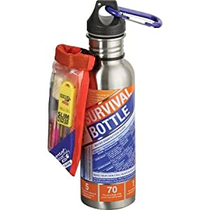 Adventure Medical Kits Adventure Medical S.O.L. Water Bottle Survival Combo