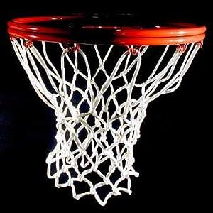 CSI Heavy Duty White Nylon Basketball Net