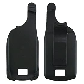 Black Plastic Swivel Belt Clip Holster for Motorola SLVR L7