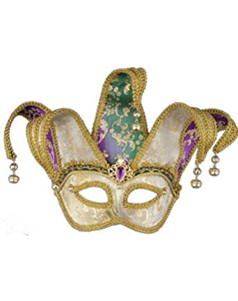 Click to buy Mardi Gras Magic Color Changing Jester Maskfrom Amazon!